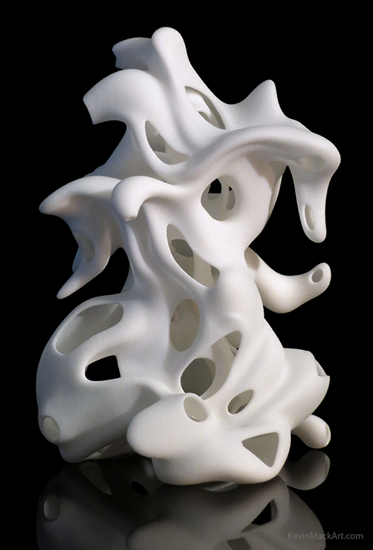 Kevin Mack Art Mobius Ganesha Abstract 3d Printed